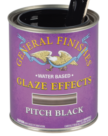 General Finishes Glaze Effects, Quart, Pitch Black
