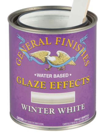 General Finishes Glaze Effects, Quart, Winter White