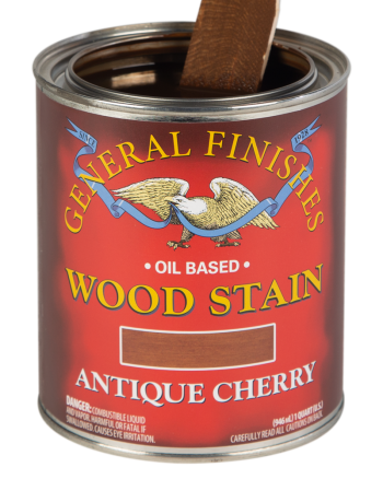 General Finishes Liquid Oil Wood Stain, Quart, Antique Cherry