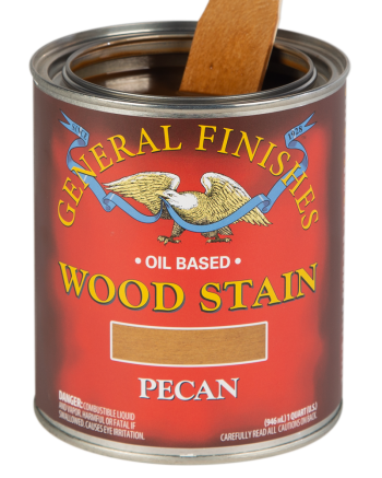 General Finishes Liquid Oil Wood Stain, Quart, Pecan