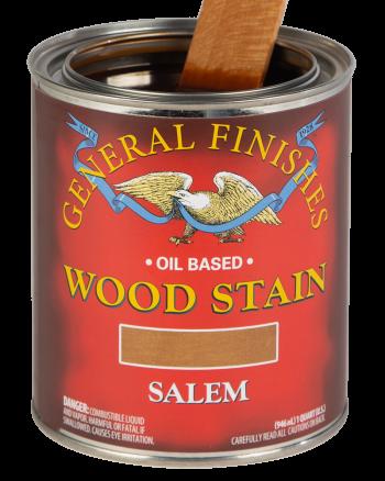 General Finishes Liquid Oil Wood Stain, Quart, Salem