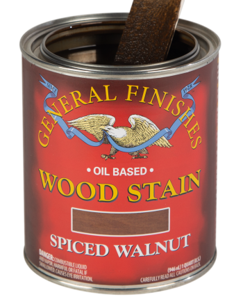 General Finishes Liquid Oil Wood Stain, Quart, Spiced Walnut
