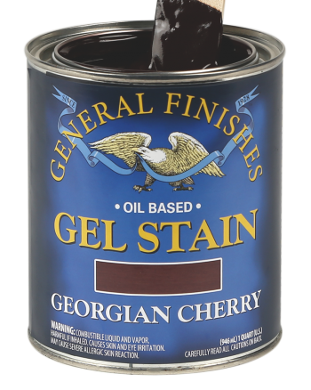 General Finishes Oil Based Wood Stain, Quart, Georgian Cherry