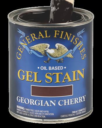 General Finishes Oil Based Wood Stain, Quart, Georgian Cherry