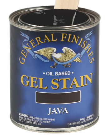 General Finishes Oil Based Wood Stain, Quart, Java