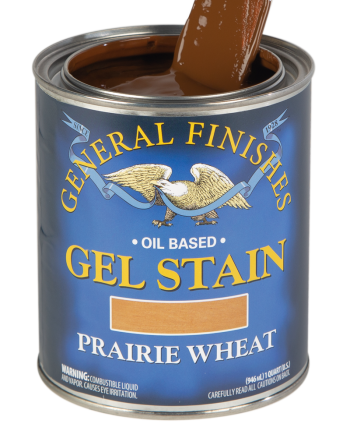 General Finishes Oil Based Gel Stain, Quart, Prairie Wheat