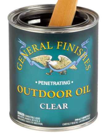 General Finishes Outdoor Oil, Quart, Clear