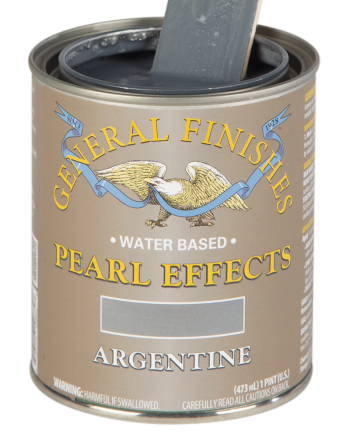 General Finishes Pearl Effects, Pint, Argentine