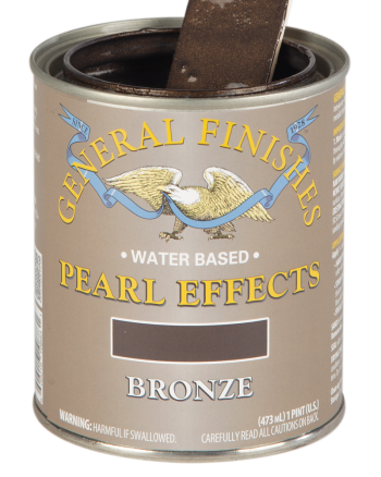 General Finishes Pearl Effects, Pint, Bronze