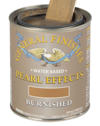 General Finishes Pearl Effects, Pint, Burnished