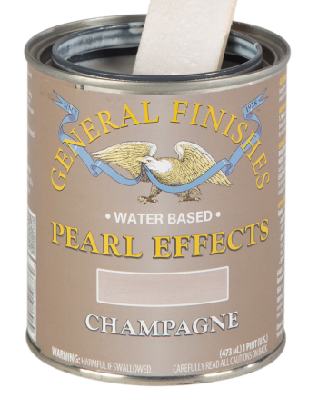 General Finishes Pearl Effects, Pint, Champagne