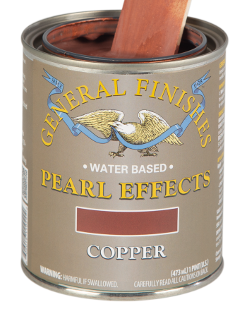 General Finishes Pearl Effects, Pint, Copper