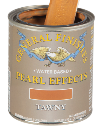 General Finishes Pearl Effects, Pint, Tawny