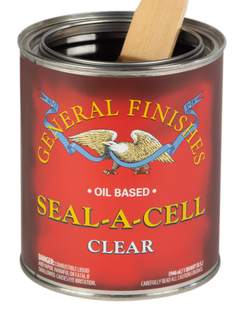 General Finishes Seal-A-Cell, Quart, Clear
