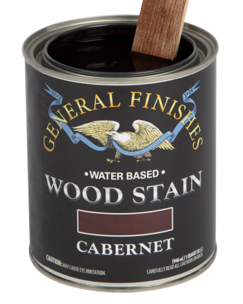 General Finishes Water Based Wood Stain, Quart, Cabernet