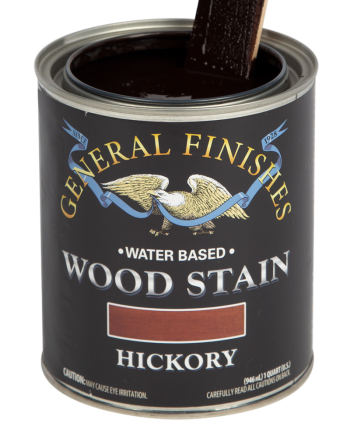 General Finishes Water Based Wood Stain, Quart, Hickory