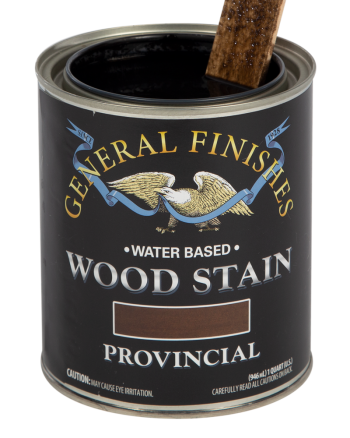 General Finishes Water Based Wood Stain, Quart, Provincial
