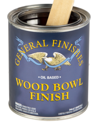 General Finishes Wood Bowl Finish, Quart