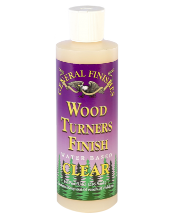 General Finishes Wood Turners Finish, 16 oz Bottle, Clear