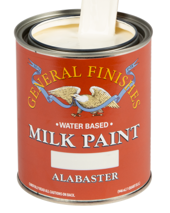 General Finishes Milk Paint, Quart, Alabaster