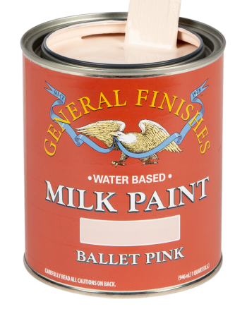 General Finishes Milk Paint, Quart, Ballet Pink