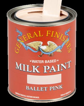General Finishes Milk Paint, Quart, Ballet Pink