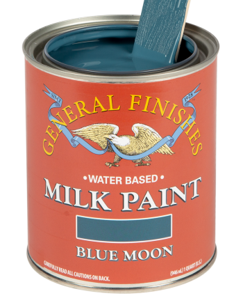 General Finishes Milk Paint, Quart, Blue Moon