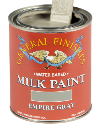General Finishes Milk Paint, Quart, Empire Gray