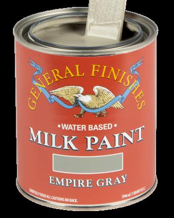 General Finishes Milk Paint, Quart, Empire Gray