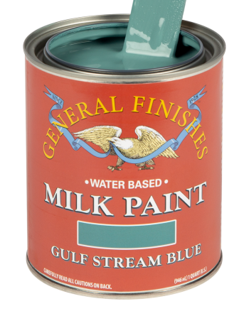 General Finishes Milk Paint, Quart, Gulf Stream Blue