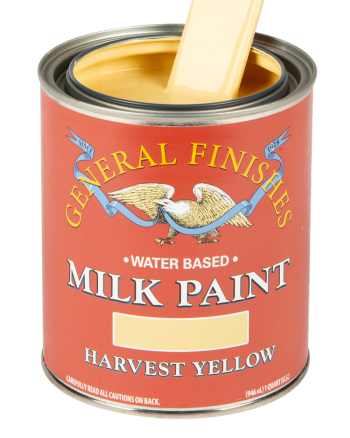 General Finishes Milk Paint, Quart, Harvest Yellow