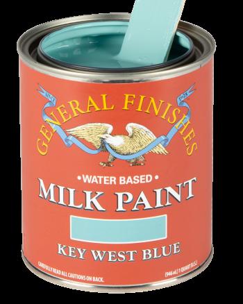 General Finishes Milk Paint, Quart, Key West Blue