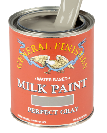 General Finishes Milk Paint, Quart, Perfect Gray