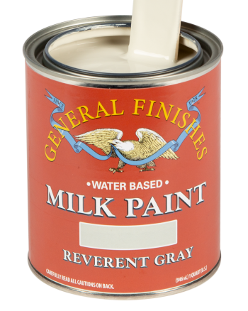 General Finishes Milk Paint, Quart, Reverent Gray