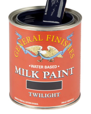 General Finishes Milk Paint, Quart, Twilight