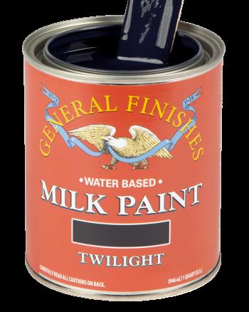 General Finishes Milk Paint, Quart, Twilight