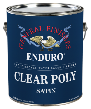 Enduro Water Based Clear Poly Satin Gallon