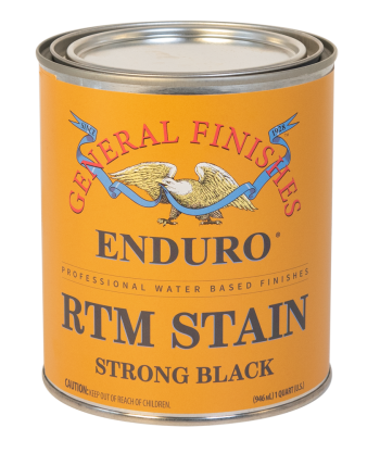 Enduro Ready-To-Match (RTM) Water Based Stain - Strong Black