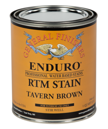 Enduro Ready-To-Match (RTM) Water Based Stain - Tavern Brown