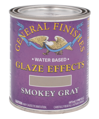 General Finishes Glaze Effects, Quart, Smokey Gray