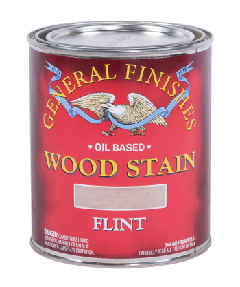 General Finishes Liquid Oil Wood Stain, Quart, Flint