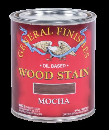 General Finishes Liquid Oil Wood Stain, Quart, Mocha