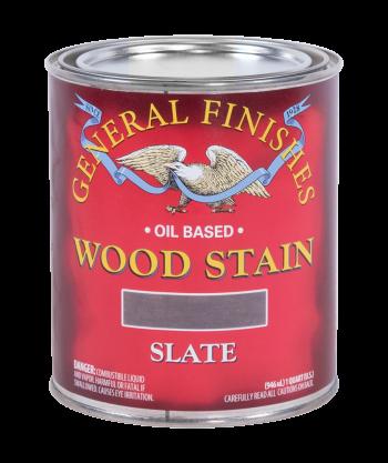 General Finishes Liquid Oil Wood Stain, Quart, Slate