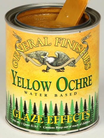 General Finishes Glaze Effects, Quart, Yellow Ochre (Discontinued)