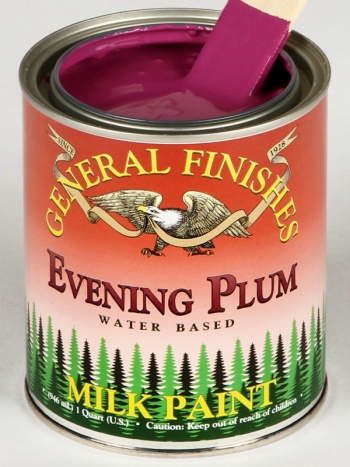 General Finishes Milk Paint, Quart, Evening Plum (Discontinued)