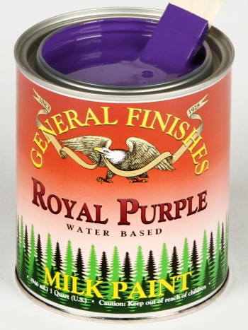 General Finishes Milk Paint, Quart, Royal Purple (Discontinued)