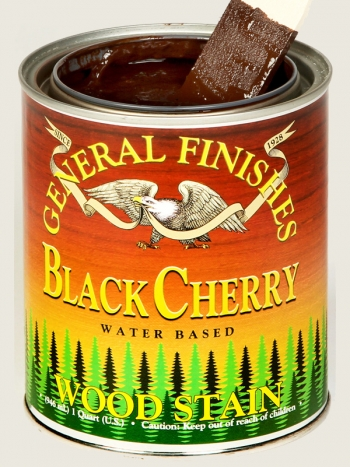 Black Cherry Water Based Wood Stain Cabinet General