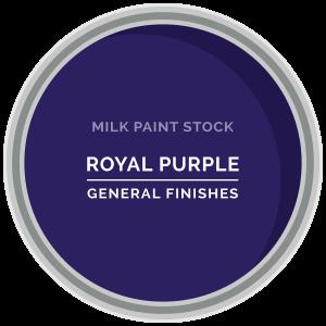 Stock Milk Paint Color: Royal Purple