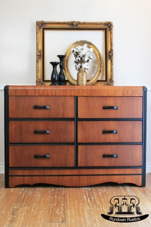 Two-Tone Waterfall Dresser