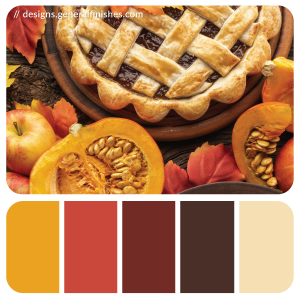 Color Palette - Thanksgiving Dessert